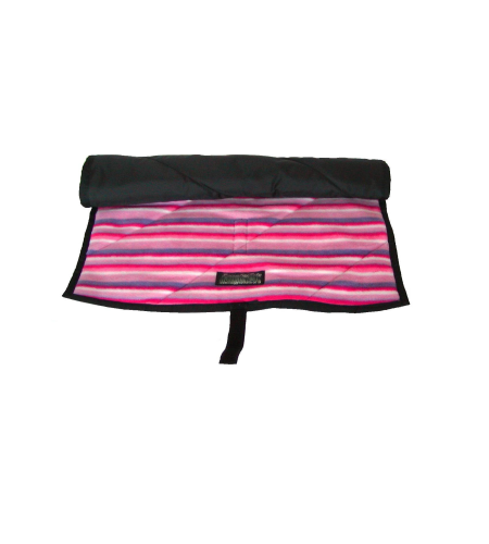 Baby Massage Gift Set Pink Stripey Mat