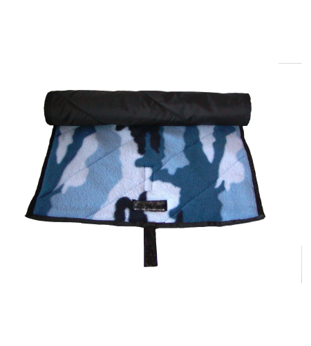 Baby Massage Gift Set Blue Camo Mat
