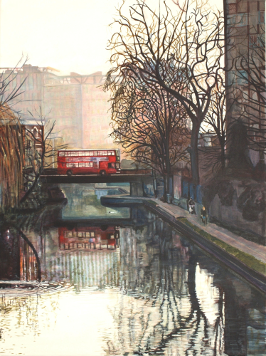 Hertford Union Canal from Skew Bridge (x10)